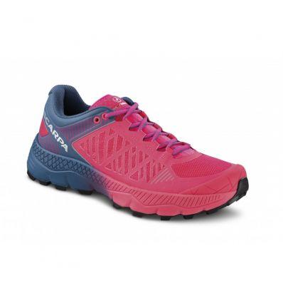 Chaussure de trail Scarpa Spin Ultra (Rose Fluo) femme