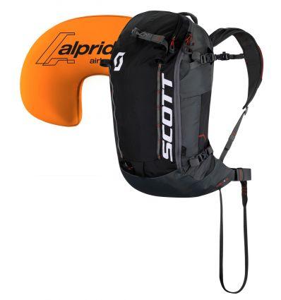 Airbag Bag Scott Patrol E1 30 Kit (Black/grey)