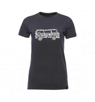 Tee-shirt Black Diamond Vantastic (Anthracite) Femme