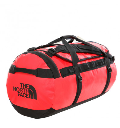 The North Face Base Camp Duffel L (Red/Black)