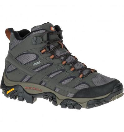 Chaussures de randonnée Merrell Moab 2 Mid Goretex (beluga) femme