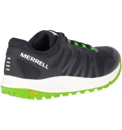 Merrell Nova (Black/Lime) Men's Running