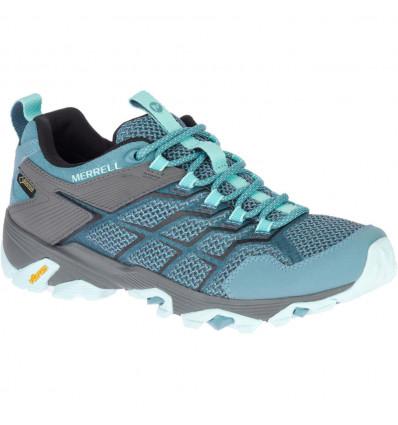 Chaussures de randonnée Merrell Moab Fst 2 Gtx (Fumée Bleue) Femme