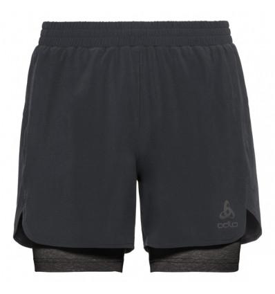 2 in 1 Shorts Millennium Linencool Pro Odlo (black - Black) Man