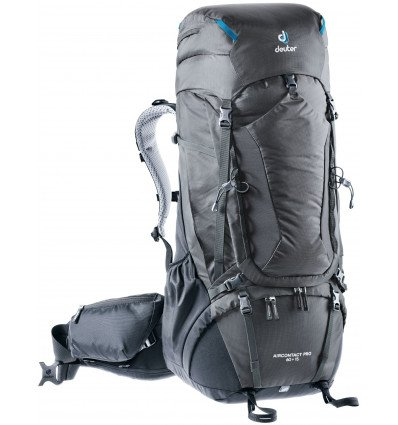 Backpack Deuter Aircontact Pro 60+15 (black graphite)