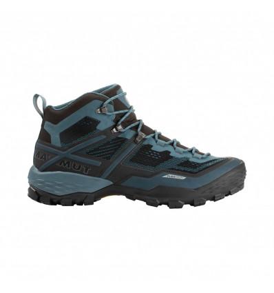chaussure de randonnée Ducan Mid GTX® Mammut (noir Light Poseidon) Homme