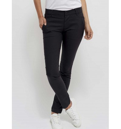 Pantalon Looking For Wild City Pant (Anthracite) Femme