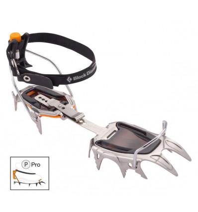 Crampons Black Diamond Sabretooth Pro (gris/noir)