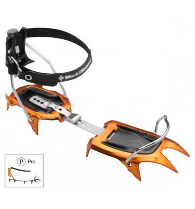 Crampons Ski de rando Black Diamond Neve Pro (orange/noir)