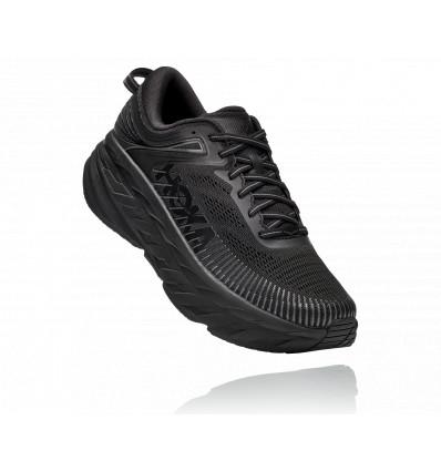 Chaussure de running Hoka One One Bondi 7 (Black) Homme