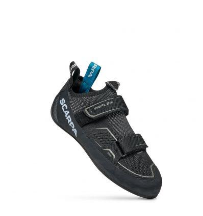 Scarpa Reflex V (Black Gray) Mens Climbing Slipper
