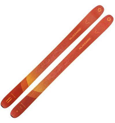 Skis Blizzard Rustler 11 (orange) homme