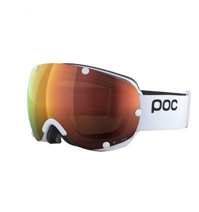 Masque Poc Lobes Clarity (Hydrogen White/Spektris Orange)