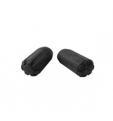 protège pointes Black Diamond TREKKING POLE TIP PROTECTORS (noir)