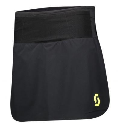Jupe-short SCOTT RC Run (Black/yellow) Femme