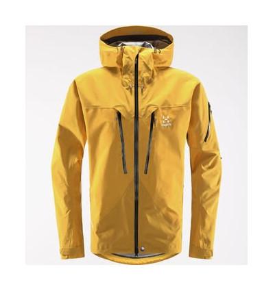 Men's Haglofs Spitz Jacket (Pumpkin Yellow)