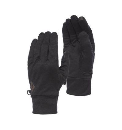Sous-gants BLACK DIAMOND Lightweight Wooltech (Anthracite)