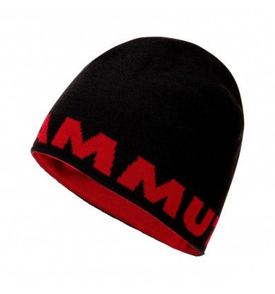 Bonnet réversible MAMMUT Mammut Logo Beanie (Noir)