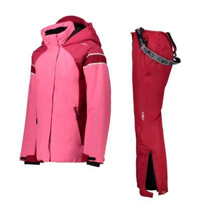 Details about  /CMP Ski Jacket Snowboard Jacket Girl Jacket Snaps Hood White Waterproof Warming