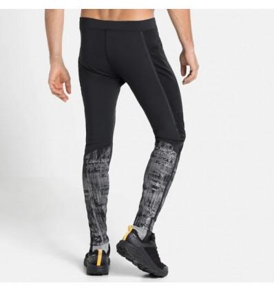 ODLO Homme Performance Chaud Leggings Pantalon Pantalon Noir Sport Running