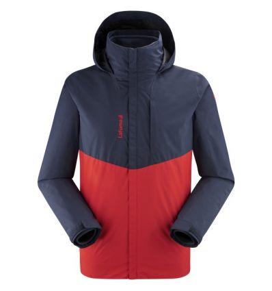 Veste imperméable Lafuma Access 3in1 Fleece (Vibrant red/Eclipse blue) homme