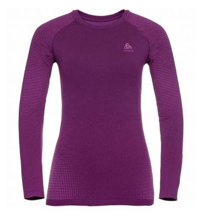 T-shirt manches longues Odlo Performance Warm ECO (charisma - purple cactus flower) femme