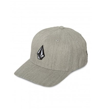 Casquette VOLCOM Full Stone Heather Xfit (Grey Vintage) Homme