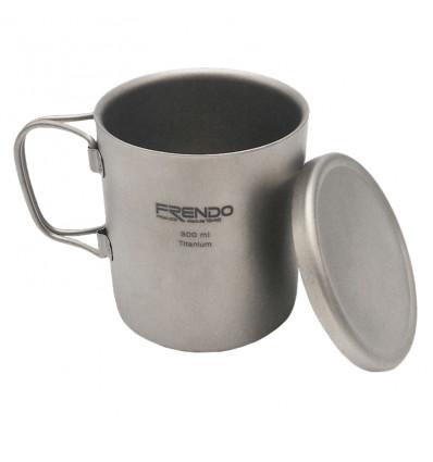 Tasse Frendo Mug Double Paroi Titane