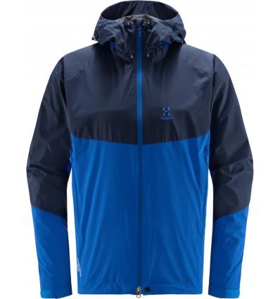Haglöfs Glide Jacket (Tarn Blue/Storm Blue) men's windbreaker