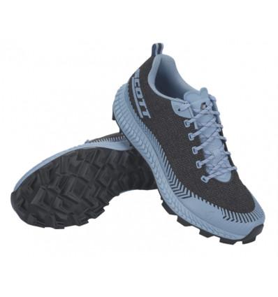 Chaussures de trail SCOTT Supertrac Ultra RC (Black/Glace Blue) Femme