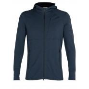 North Bend Nevis Zip Shirt Fleecejacke grau