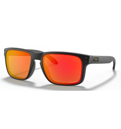 Oakley Holbrook Sunglasses (matte black - prizm ruby)