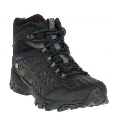 Chaussures de randonnées Merrell Moab Fst Ice+ Thermo (Black) Femme