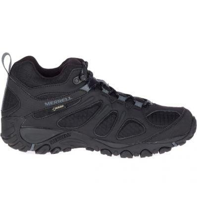 Chaussures de randonnée Merrell Yokota 2 Sport Mid Gtx (Black) Homme