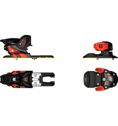 Fixations ski Freestyle N Warden Mnc 13 Orange/black Salomon