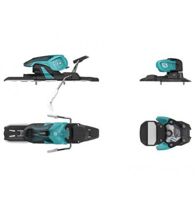 Fixation ski alpin Alp . N Warden 11 Turquoise/black Salomon