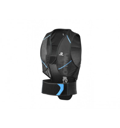 Dorsale de protection Flexcell Men Black/blue Salomon