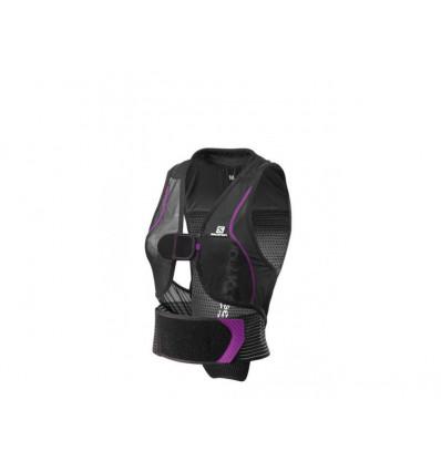 Dorsale de protection Flexcell Women Black/purple Salomon