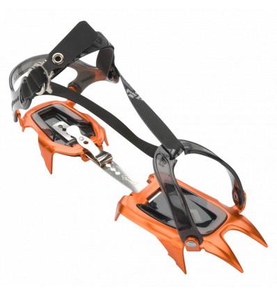 Crampons Black Diamond Neve Strap (orange/noir)