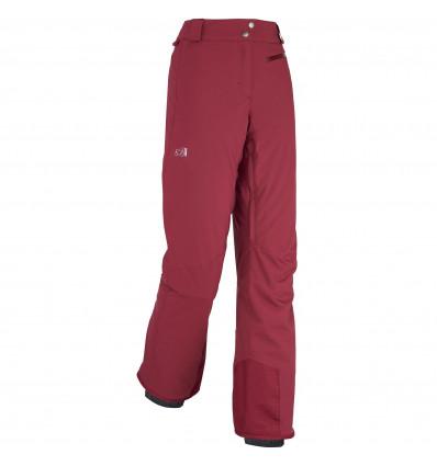 Pantalon Millet Ld big white strep (Velvet Red) femme