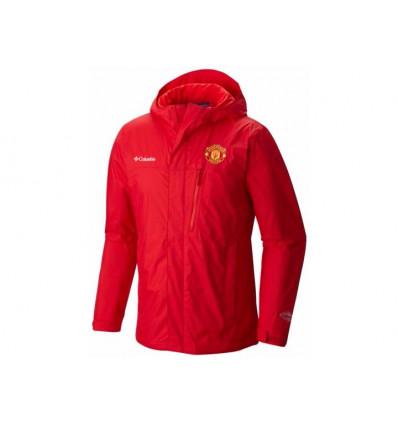 Veste hiver Ascender Softshell Jacket (mu-cherrybomb) Manchester United Columbia