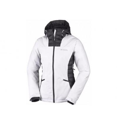 Veste Columbia Salcantay Hooded Jacket (white, Black) femme