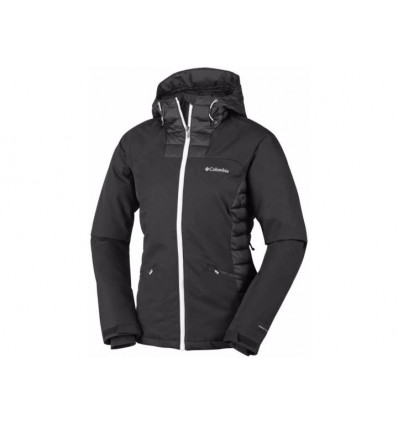 Veste Columbia Salcantay Hooded Jacket (black, White) femme