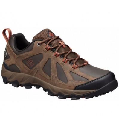 Chaussures Basses Cuir Columbia Peakfreak XCRSN II OutDry (cordovan/sanguine)