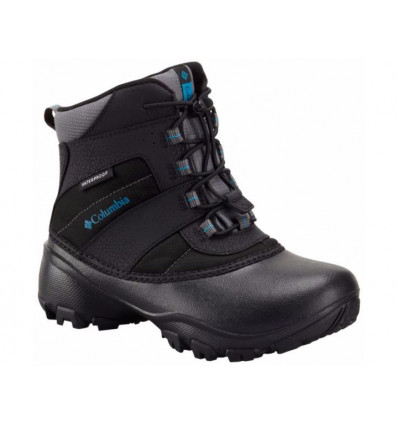 Bottes de neige Columbia Youth Rope Tow III (black, Dark Compass) junior