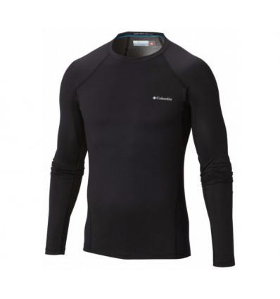 Sous vêtement Columbia Midweight Stretch Long Sleeve Top (black)