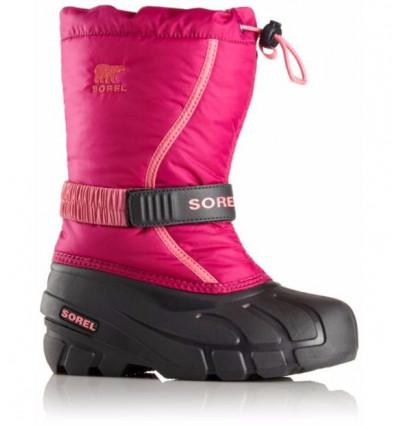 Botte après ski enfants Sorel Flurry (rose tropiques)