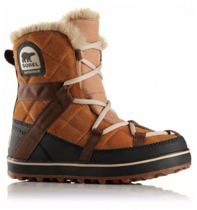 Botte après-ski Sorel Glacy Explorer Shortie (Elk) femme