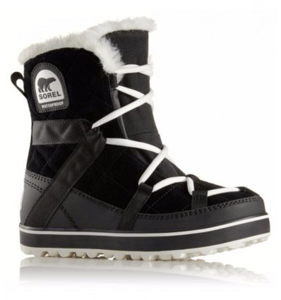 Botte hiver Sorel Glacy Explorer Shortie (black) femme