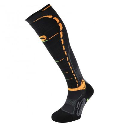 Chaussettes ski Monnet Energy Hi-PERF (Orange)